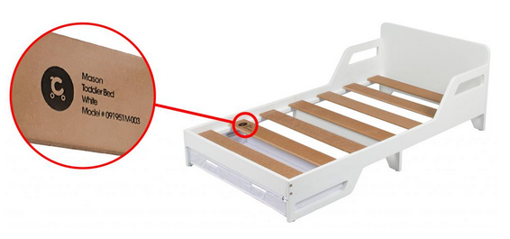 Product Recall – Target Australia — Childcare Mason Toddler Bed